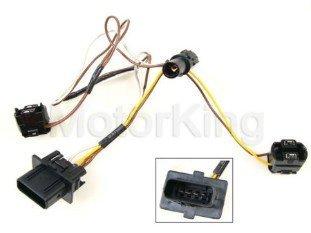 B360 2108203761 99-03 Mercedes W210 Headlight Wire Wiring Harness Connector Kit E320 E430 E55 99 00 01 02 (Mercedes E320 W210)