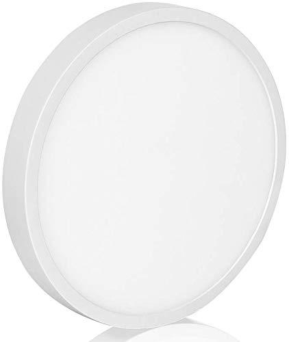UltraSlim LED 12 W rotondo –  Montaggio Panel 230 V –  24 mm –  piatto in alluminio pressofuso –  980lm –  ø 140 X 23.5 mm