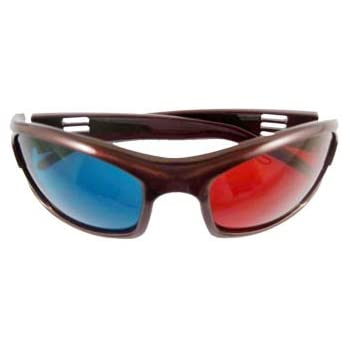 52471cde5d9e 3D Red-Blue   Cyan Anaglyph Simple Style Glasses Movie Game-Extra Upgrade  Style