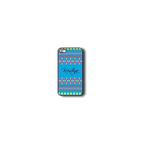 Krezy Case Monogram iPhone 5c Case, Colorful aztec Pattern Monogram iPhone 5c Case, Monogram iPhone 5c Case, iPhone...