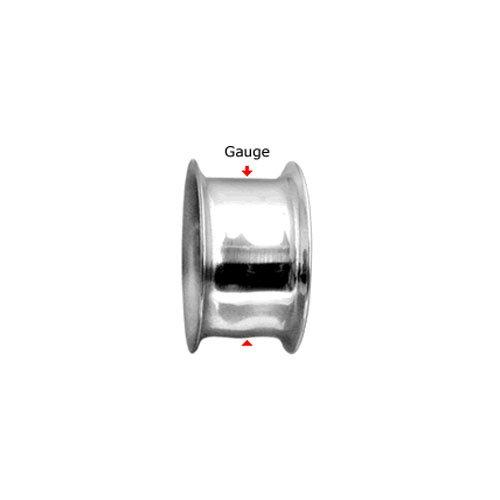 2 Pieces Tunnels 2G Acrylic Rasta Flag Double Flare Acrylic Ear Gauges Plugs 2 Gauge