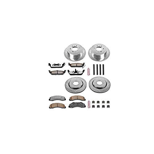 - Power Stop K3166-36 Z36 Truck & Tow Front and Rear Brake Kit