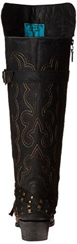 Bottes De Marche Femmes Julie Western Boot Black