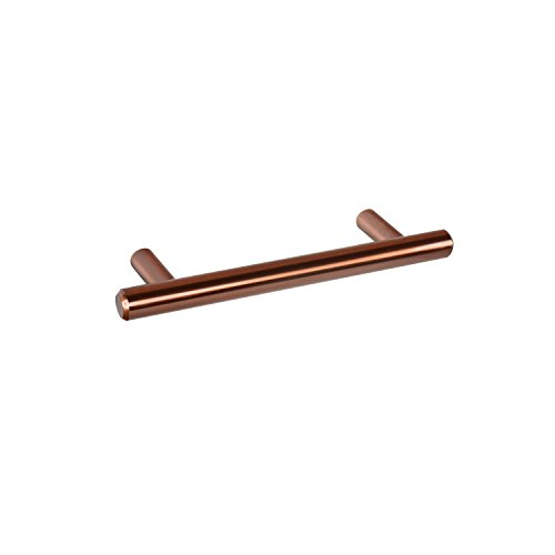 CKP Brand #3489-3-3/4 in. (96mm) Steel Bar Pull, Cinnamon - 10 Pack