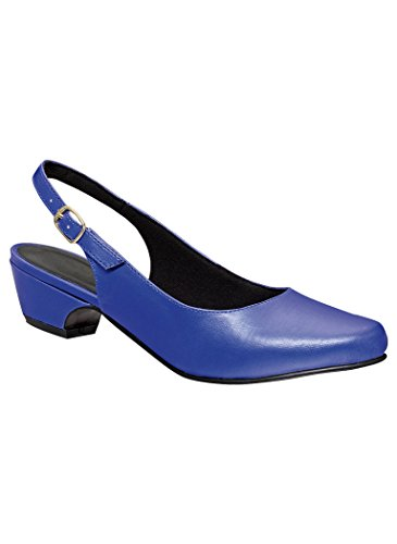 AngelSteps Women's Adult Delia Synthetic 9 Medium US Women/Royal Blue (Royal Blue Lining)