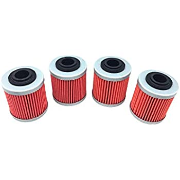 Hity Motor 4 PCS Oil Filter For Honda CBX250