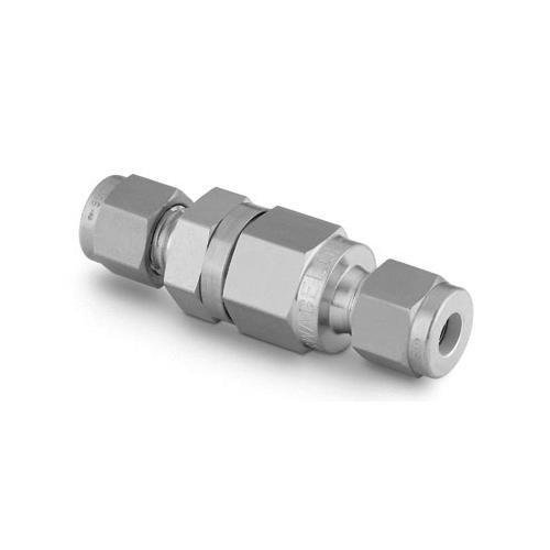 Swagelok SS-2C-1/3 Stainless Steel Poppet Check Valve, Fixed Pressure, 1/8