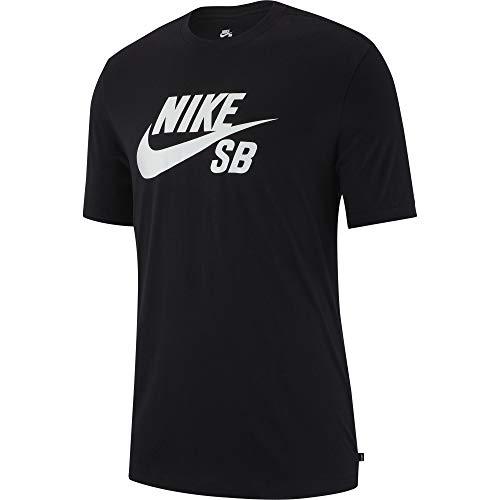 Nike SB Dri-FIT Men's Skate T-Shirt - AR4209 (Black/White, Medium)