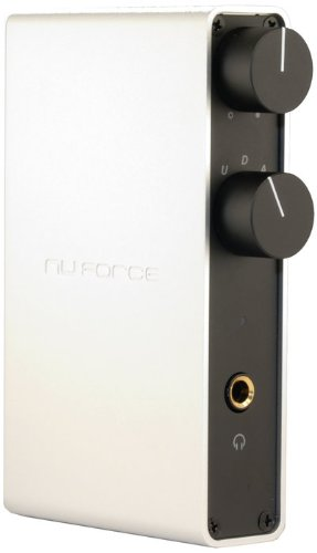 Nuforce ICON-HDP-SILVER High Performance Digital to Analog Converter, Headphone Amp and Pre Amplifier (Silver) (Discontinued by Manufacturer)