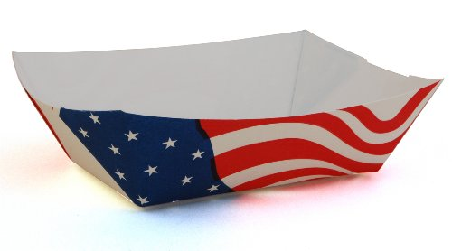 15a1106c1c50 2-1 2 lb   Southern Champion Tray 0533  100 Paperboard USA Flag Food ...