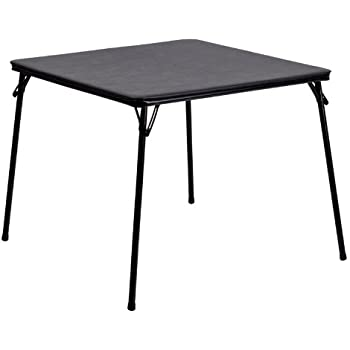 Amazoncom Lifetime 80273 Fold in Half Square Table 34 Inch