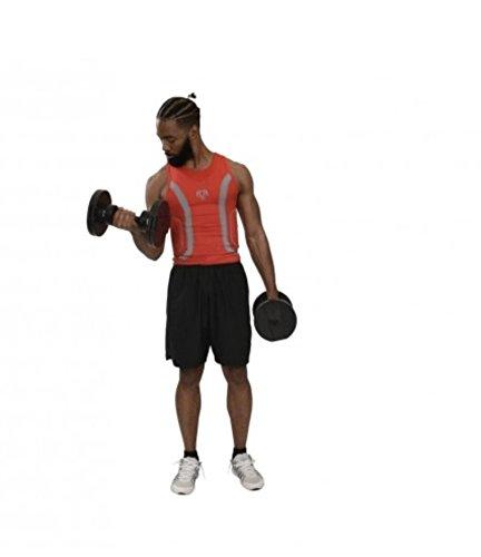 CoreHome Fitness Mancuernas Ajustables y Soporte (2-20 Kg): Amazon.es: Deportes y aire libre