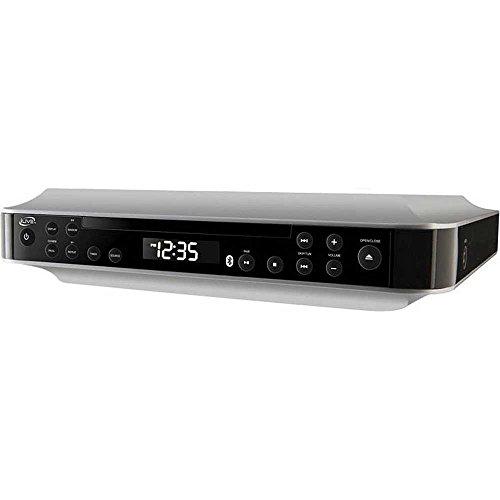 iLive Wireless Under the Cabinet Kitchen CD Player Radio Bluetooth Speaker System