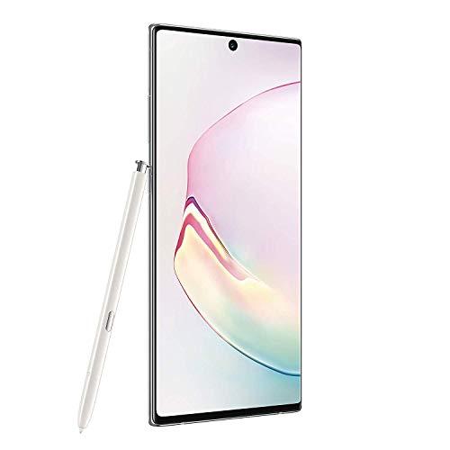Samsung Galaxy Note 10+, 256GB, Aura White - Fully Unlocked (Renewed)