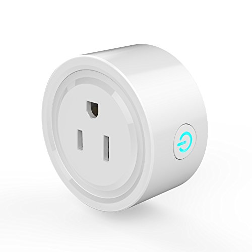 Super Mini Smart Plug ,Helet Wifi Smart Socket Work With Amazon Alexa Echo ,Google Home .Remote Control ,Support Voltage 100-240V (One pack) -  SM-22