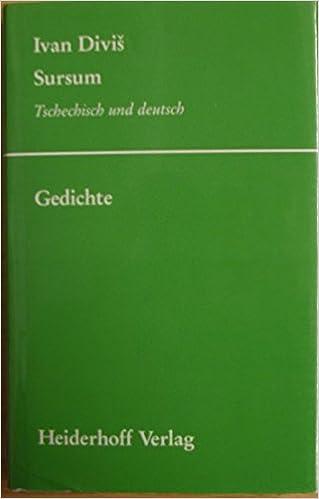 Sursum Gedichte Livre En Allemand 9783921640944 Amazon