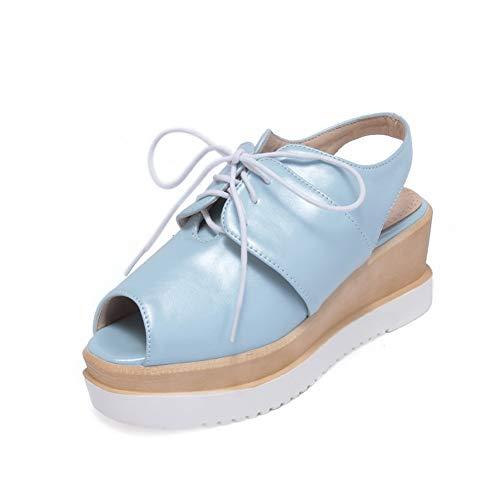 35 Donna Eu blue Blu Ballerine An Diu01264 nWOp7R