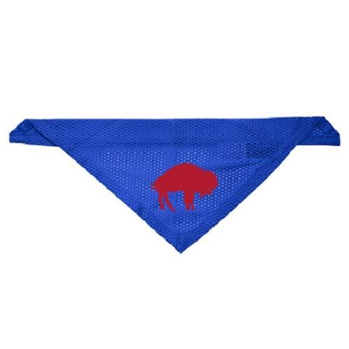 Bills Throwback Jersey - Littlearth Buffalo Bills Dog Cat Mesh Jersey Throwback Bandana L/XL