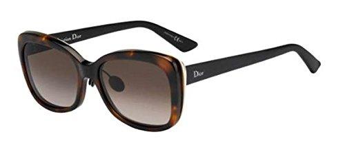 Dior Sunglasses DIORIFIC 2/N/S 03BZHA Havana & Black - Sunglasses Diorific