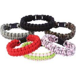 Maxam Para Cord Bracelet Set in 6 Colors (12 Pieces) ()