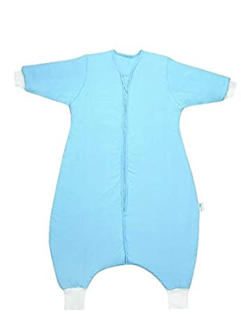 Slumbersac Winter Kid Sleeping Bag with Feet and Sleeves 3.5 Tog Plain Grey 3-4 years//110 cm