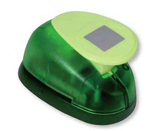 Puncher Green 25x25mm - Square, Hole Punch, Art Supplies, Heyda ()