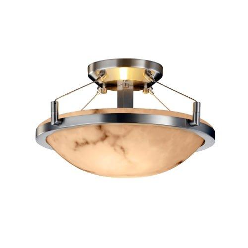 Justice Design Group Lighting FAL-9680-35-NCKL-LED2-2000 LumenAria-Ring 16
