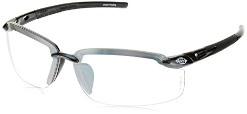 Crossfire Safety Eyewear, ES5 Series, Indoor/Outdoor Lens by Pelican