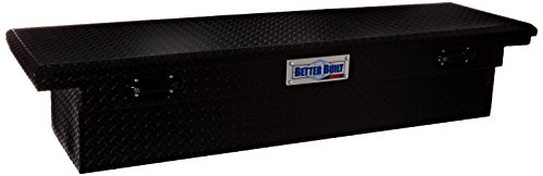 Better Built 79211099 Single Lid Tool Box (Black Truck Tool Box)