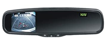 Amazon.com: Rydeen MV311T RearView Mirror w/Back Up Camera Monitor ...