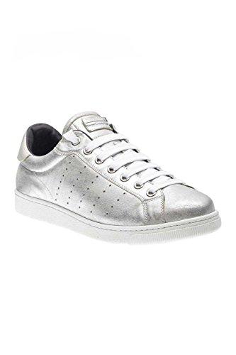 Dsquared Men Shoes Sneaker Santa Monica, Colore: Argento, Misura: 45