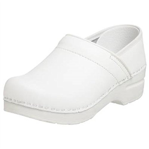 Dansko Women's Professional Clog, White Box, 39