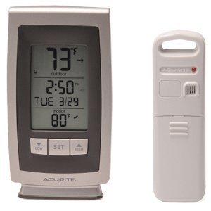 Amazon.com : Acurite Digital Indoor / Outdoor Wireless Thermometer ...