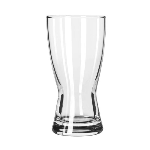 Libbey 1176HT Hourglass Pilsners 9 Ounce Pilsner Glass - 36 / CS