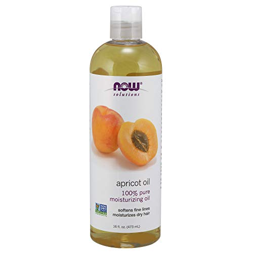 NOW Solutions, Apricot Kernel Oil, Hair Moisturizer, Rejuventaing Skin Oil, Softens Fine Lines, 16-Ounce