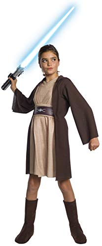 Rubie's Star Wars Classic Child's Deluxe Jedi Hooded Dress, ()