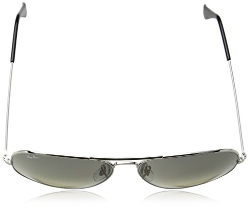 Marrón sol Metal Hombre Gradient Aviator Grey Light de Ban para Gafas Ray Large qHxzUHa