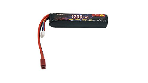 Fconegy 3S 11.1V 1200mAh 20C Lipo Battery Pack with XT60 Plug for RC Airplane RC Helicopter RC Car RC Truck RC Boat, RC Hobby
