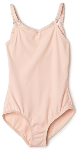 Capezio Girls 7-16 Camisole Leotard W/ Adjustable Straps