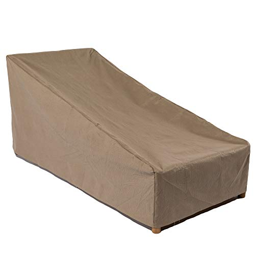 Duck Covers Essential Patio Chaise Lounge Cover, Fits Outdoor Patio Chaise Lounge Chairs 86