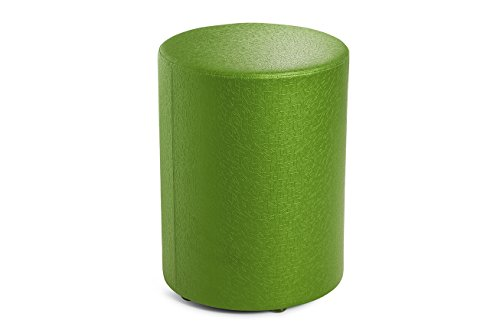 Logic Furniture MOONNCU24 Moon 1 New Ottoman, 24'', Cucumber by Logic Furniture