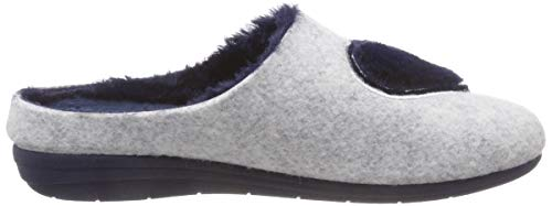 Pantofole am Macarena marino Arlet Donna Grau Gema52 gris qBqU1Ot