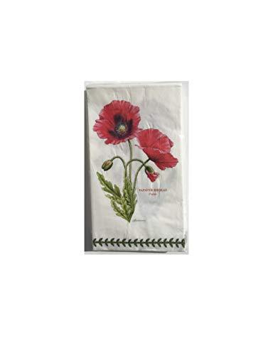 (Portmeirion Botanic Garden 3 ply guest/dinner paper napkins, pkg/16 by CR Gibson )