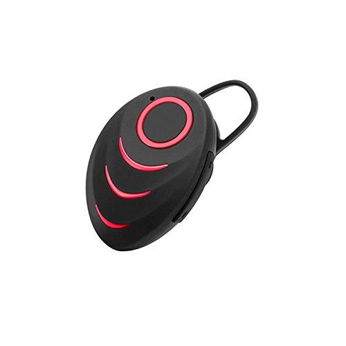 Gederq ワイヤレスイヤホンヘッドフォンのBluetoothイヤホンインナーイヤー低音BluetoothヘッドセットAURICULARES Fone社デOuvido Ecouteurs B07D8Q4P32 赤 赤