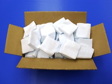 Skyline Center Inc. - 2 1/2'' Square Cleaning Patches - Bulk Case 10,000pcs. Melt Flow Indexer Cleaning - Made in USA