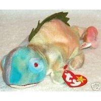 Ty Beanie Babies Iggy the Iguana Rainbow Colors (Iggy Beanie Baby)