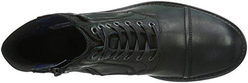 Marc O'Polo Bootie - Botas Hombre Negro - Schwarz (black 990)