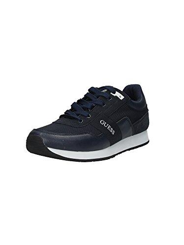 Guess Fm2ni2 Fab12 de zapatillas con cachorros de azul - azul