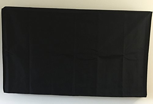 70'' Flat Screen TV - OUTDOOR Black Cover, Ideal for LCD ...