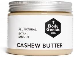 Body Genius CASHEW BUTTER - Mantequilla Natural y Suave de ...